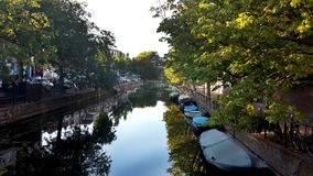 Beautifull天在荷兰 库存图片