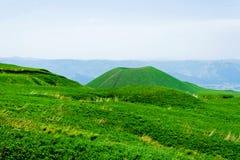 beautifull日本微小的火山 库存图片