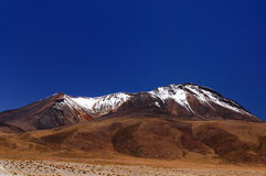 Beautifull Andes in South America Stock Images
