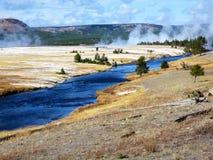 Yellowstone National Park, Wyoming, United States. Beautifull autumn day in Yellowstone national park, USA Royalty Free Stock Images