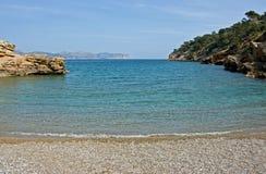 Beautifull beach. Beautiful beach on the island Mallorca Stock Images