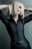 Beautifull Blondine! Stockbilder