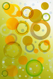 Beautifull bokeh effect: green. Beautifull bokeh effect: fade in green royalty free illustration