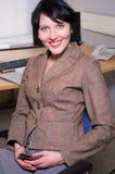 Beautifull businesswoman Royalty Free Stock Image