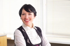 Beautifull businesswoman Royalty Free Stock Photos