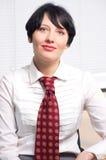 Beautifull businesswoman Stock Photos