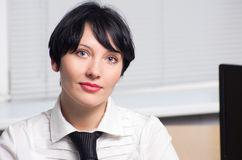 Beautifull businesswoman Stock Photography