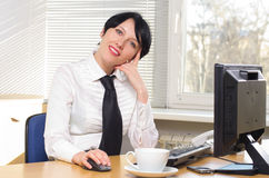 Beautifull businesswoman Royalty Free Stock Photography