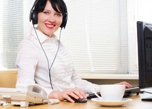Beautifull businesswoman Royalty Free Stock Image
