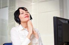 Beautifull businesswoman Stock Photo
