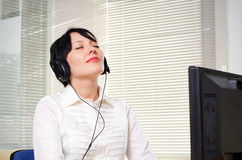 Beautifull businesswoman Stock Image