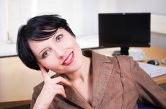 Beautifull businesswoman Royalty Free Stock Photography
