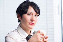 Beautifull businesswoman Stock Photos