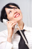 Beautifull businesswoman Royalty Free Stock Images