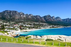 Beautifull Camps Bay Royalty Free Stock Images