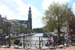 Beautifull canals Royalty Free Stock Images
