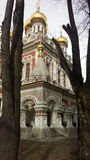 Beautifull Church. Russian church bulgaria arhitecture royalty free stock photos
