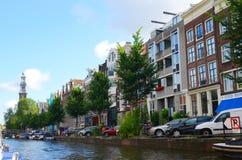Beautifull city of amsterdam Stock Photography