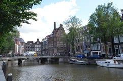 Beautifull city of amsterdam Royalty Free Stock Photography