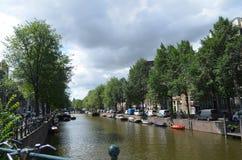 Beautifull city of amsterdam Royalty Free Stock Photos
