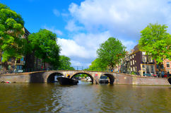 Beautifull city of amsterdam Royalty Free Stock Images