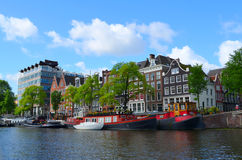 Beautifull city of amsterdam Royalty Free Stock Photo