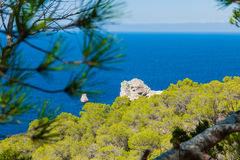 Beautifull cliff view Royalty Free Stock Image