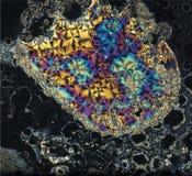 Beautifull crystals of vitamine c. A wonderfull view of vitamin c crystals. its a closeup Stock Photos
