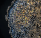 Beautifull crystals of vitamine c. A wonderfull view of vitamin c crystals. its a closeup Royalty Free Stock Images
