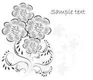 Beautifull decorative flower background Stock Image