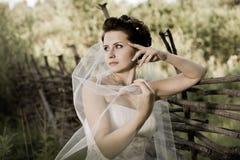 Beautifull  fiancee Stock Photos