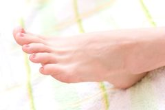 Beautifull foot Royalty Free Stock Photo