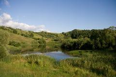 Beautifull Hügellandschaft in Rumänien Lizenzfreie Stockbilder