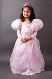 Beautifull Indian girl in Princess outfit Stock Photos