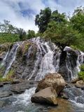 Beautifull indonesia. Waterfall sindaro in wadasmalang village, Kebumen district. cool indonesia stock images