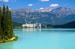 beautifull jeziora góra obrazy stock