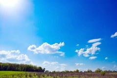 Beautifull landscape Stock Image