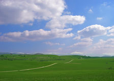 Beautifull landscape. A beautifull landscape from Navarra in the north of Spain royalty free stock photography