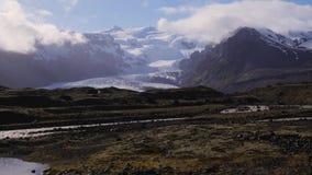 Landscape of National Park ,Iceland. Beautifull landscape of National Park in,Iceland stock footage