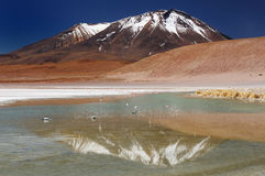 Beautifull los Andes en Suramérica Foto de archivo libre de regalías