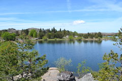 Beautifull River Landscape Royalty Free Stock Photo