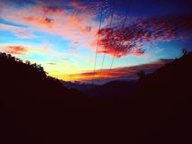 Beautifull Sunset Royalty Free Stock Photo