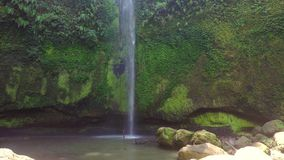 Beautifull Tomohon Selatan waterfall in Sulawes stock video