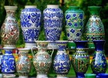 beautifull unikalny ceramiczny tradycyjny Zdjęcie Stock