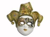 Beautifull venetian mask. Isolated on white