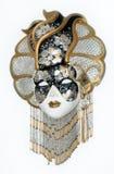 beautifull venetian maskowy Obraz Royalty Free