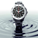 Beautifull watch standing on water Royalty Free Stock Photos