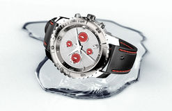 Beautifull watch in water Royalty Free Stock Photos
