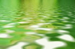 Beautifull water surface with sky reflection. Beautiful water surface with sky and sun reflection royalty free stock photography