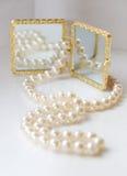 Beautifull white accessories Stock Photo